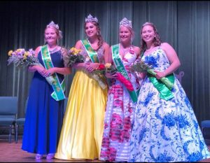 2019 Queen and her court